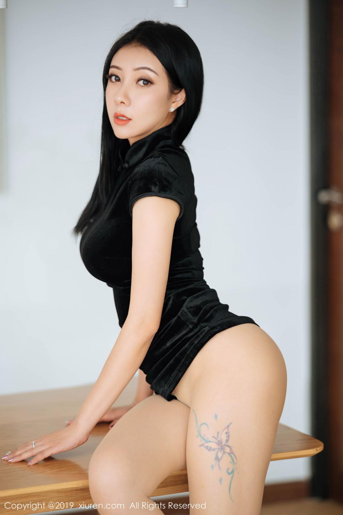 [XiuRen] Vol.1813 Song Guo Er 46P, Cheongsam, Song Guo Er, Xiuren