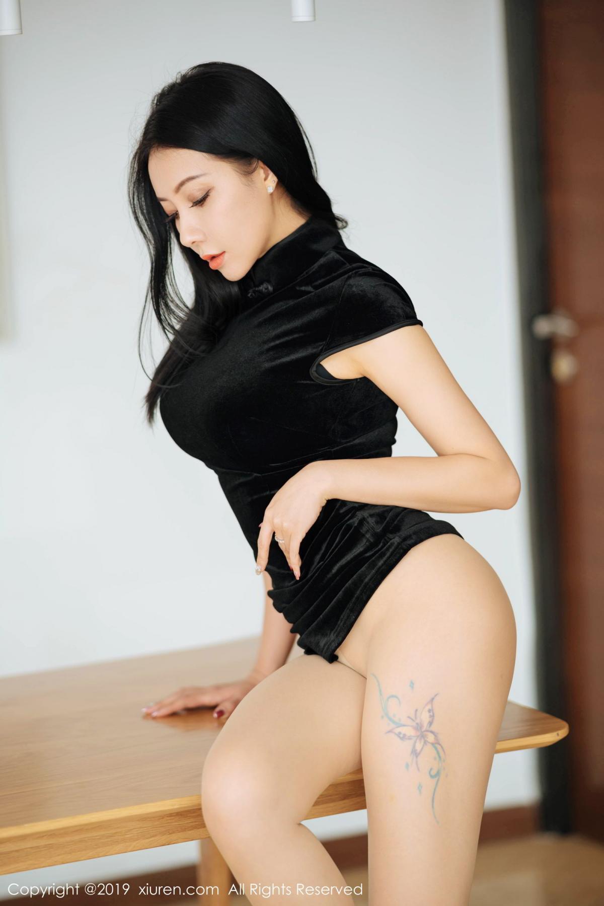 [XiuRen] Vol.1813 Song Guo Er 47P, Cheongsam, Song Guo Er, Xiuren