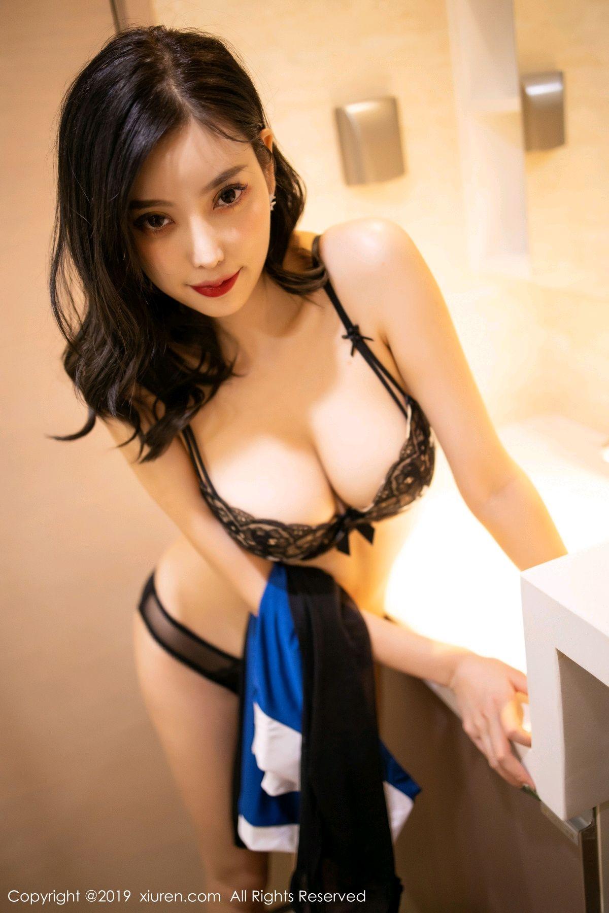 [XiuRen] Vol.1822 Yang Chen Chen 46P, Black Silk, Stewardess, Xiuren, Yang Chen Chen