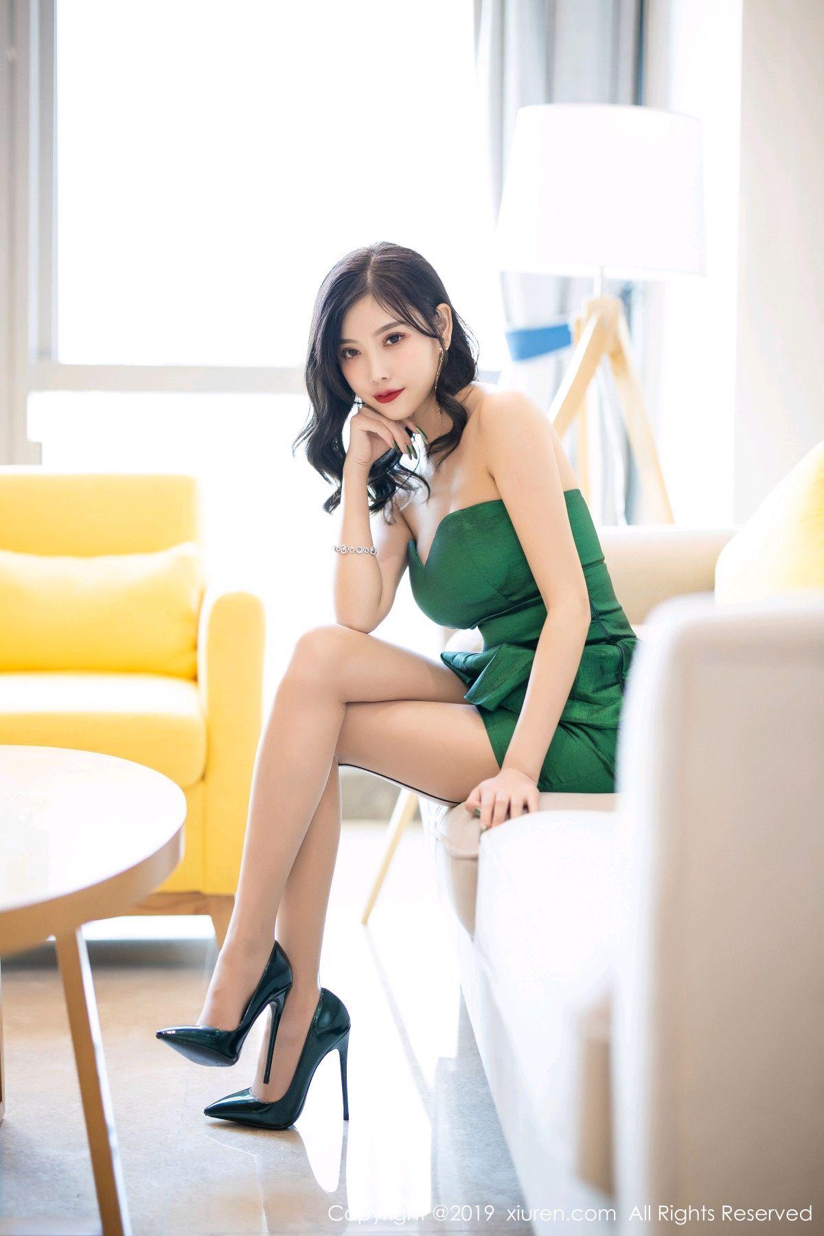 [XiuRen] Vol.1822 Yang Chen Chen 57P, Black Silk, Stewardess, Xiuren, Yang Chen Chen