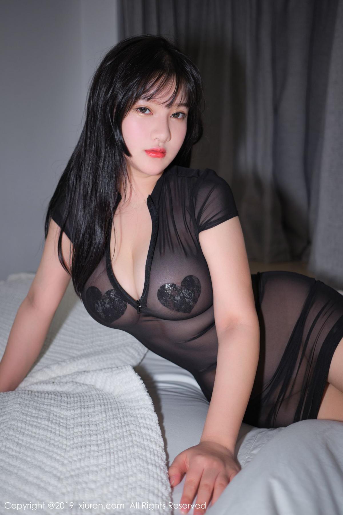 [XiuRen] Vol.1824 Lu Lu Xiao Miao 33P, Baby Face Big Boobs, Lu Lu Xiao Miao, Maid, Xiuren