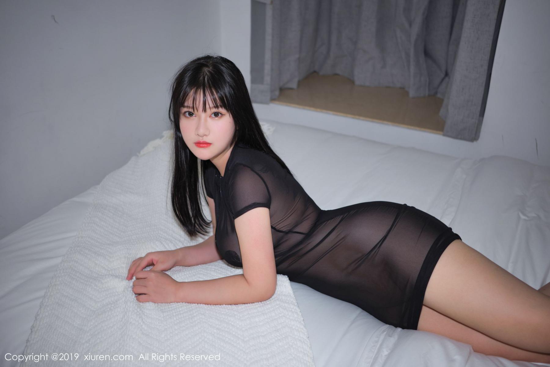 [XiuRen] Vol.1824 Lu Lu Xiao Miao 34P, Baby Face Big Boobs, Lu Lu Xiao Miao, Maid, Xiuren