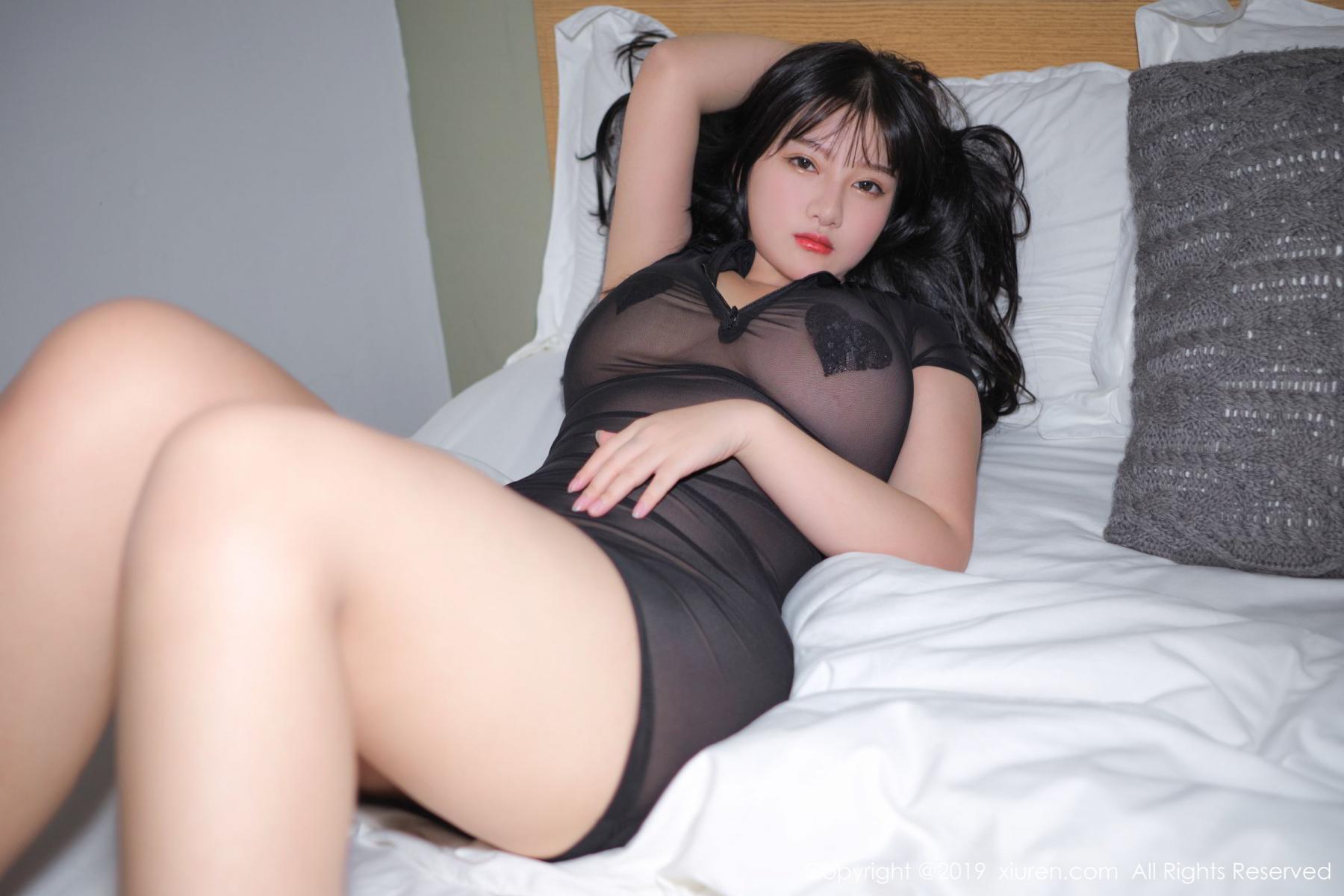 [XiuRen] Vol.1824 Lu Lu Xiao Miao 38P, Baby Face Big Boobs, Lu Lu Xiao Miao, Maid, Xiuren