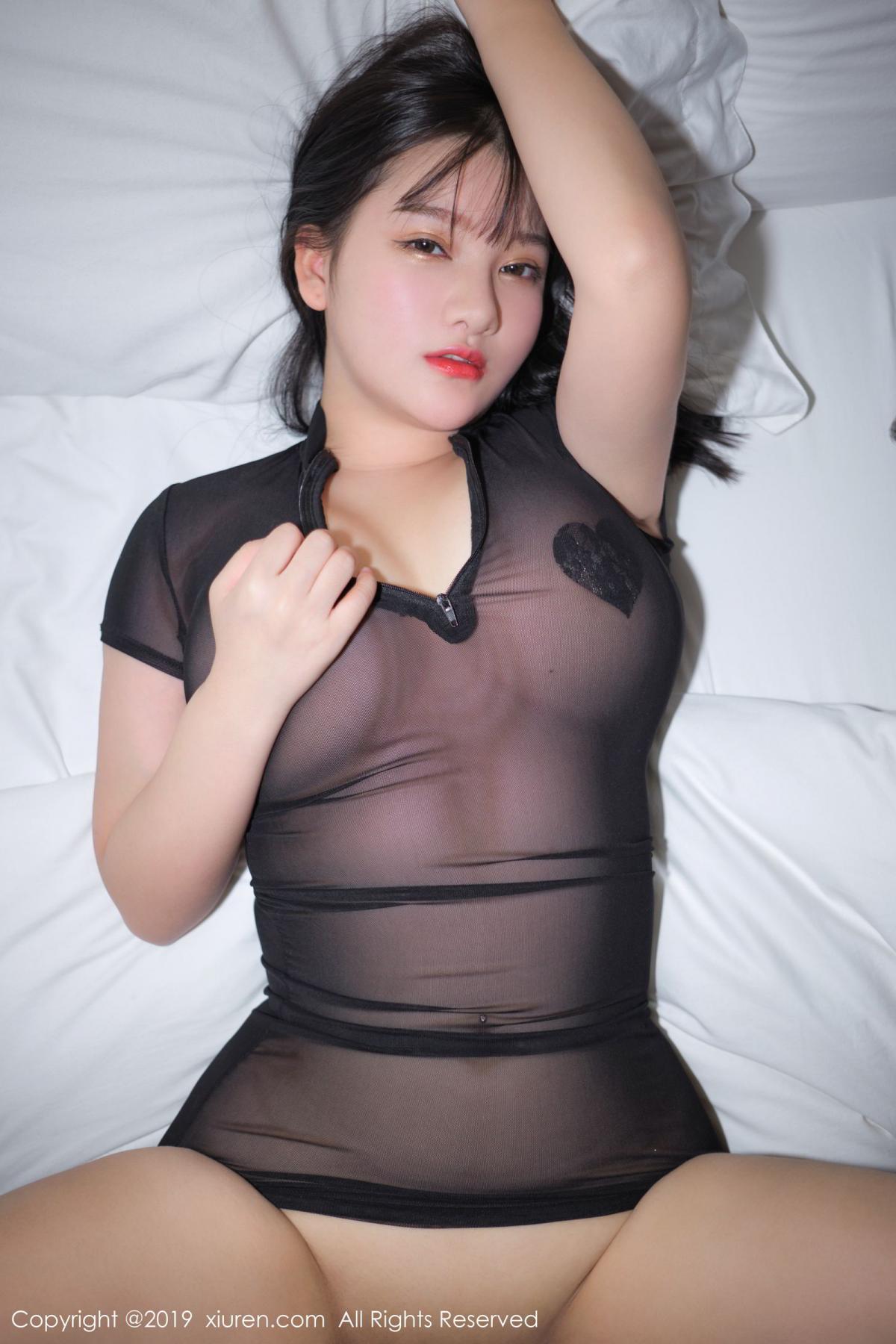 [XiuRen] Vol.1824 Lu Lu Xiao Miao 50P, Baby Face Big Boobs, Lu Lu Xiao Miao, Maid, Xiuren