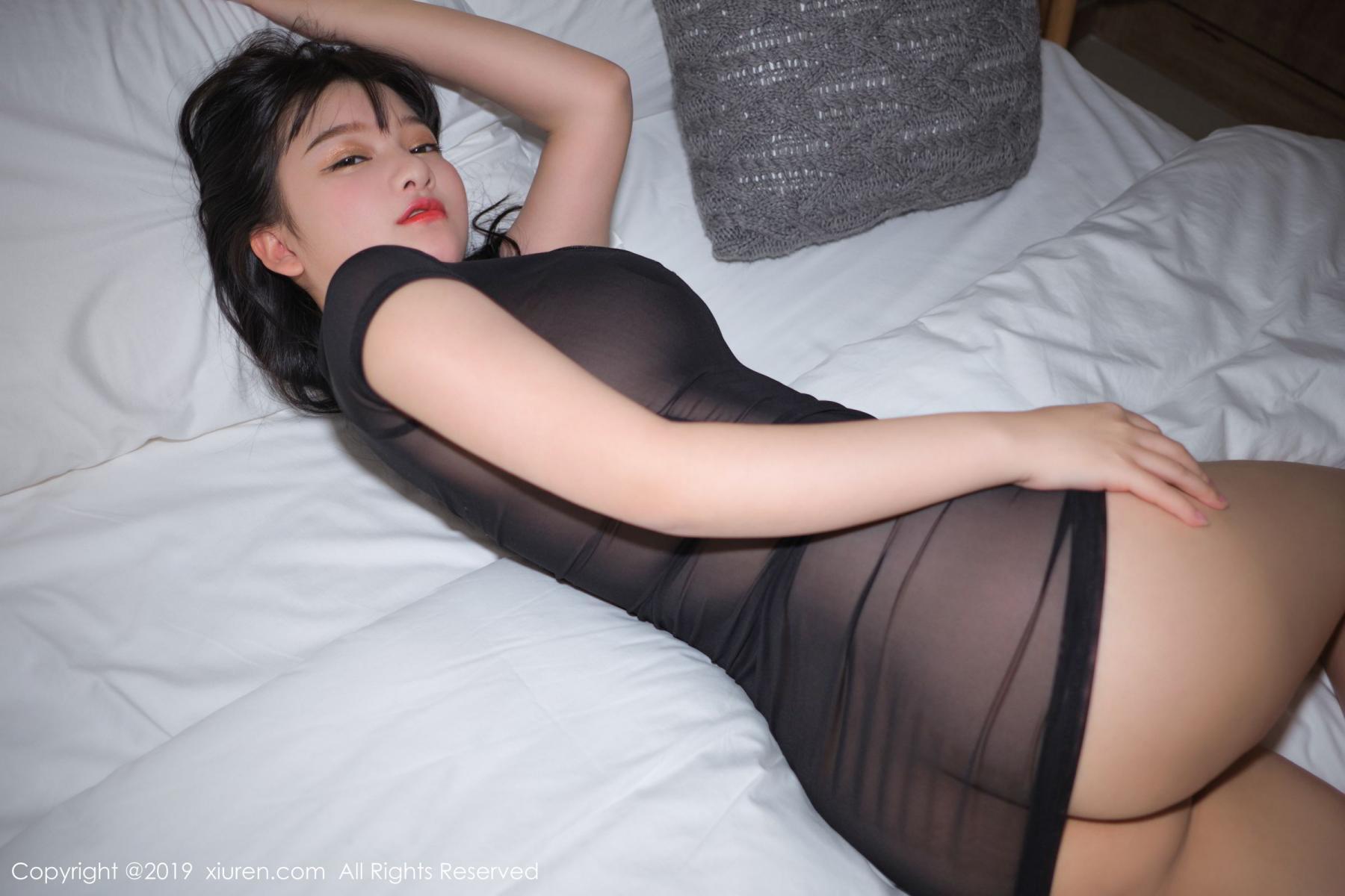 [XiuRen] Vol.1824 Lu Lu Xiao Miao 52P, Baby Face Big Boobs, Lu Lu Xiao Miao, Maid, Xiuren