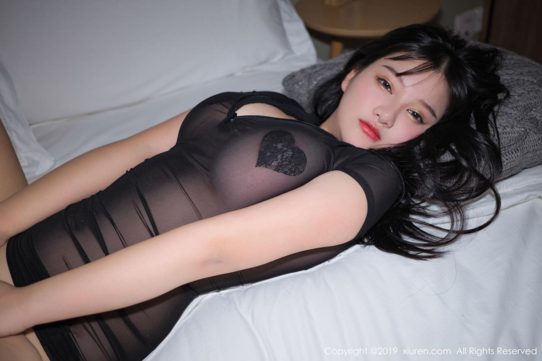[XiuRen] Vol.1824 Lu Lu Xiao Miao 65P, Baby Face Big Boobs, Lu Lu Xiao Miao, Maid, Xiuren