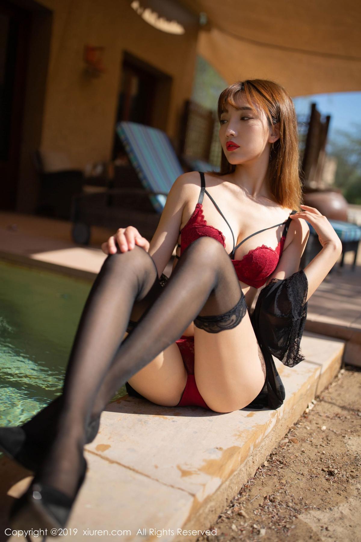[XiuRen] Vol.1826 Lu Xuan Xuan 11P, Black Silk, Lu Xuan Xuan, Tall, Underwear, Xiuren