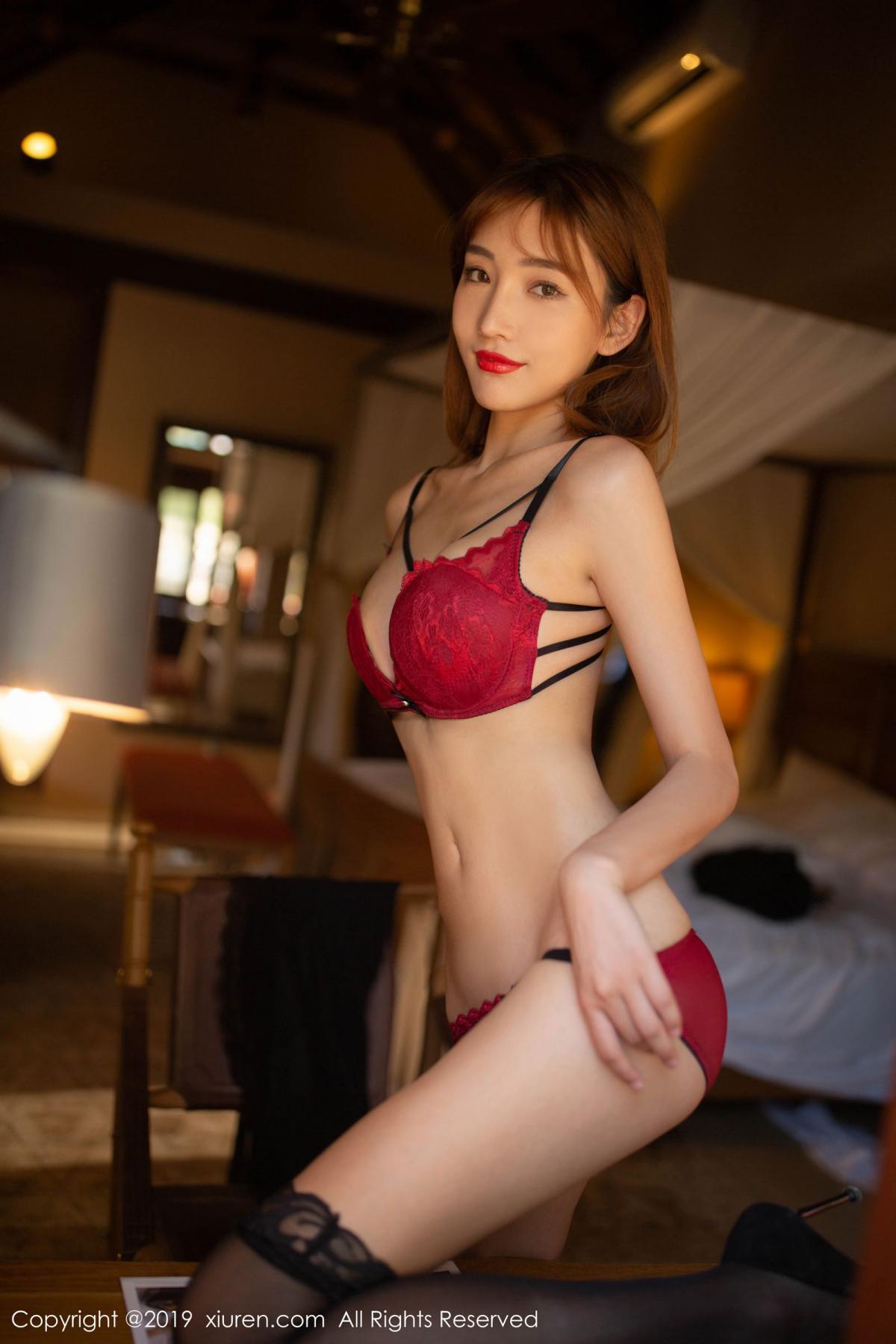 [XiuRen] Vol.1826 Lu Xuan Xuan 30P, Black Silk, Lu Xuan Xuan, Tall, Underwear, Xiuren