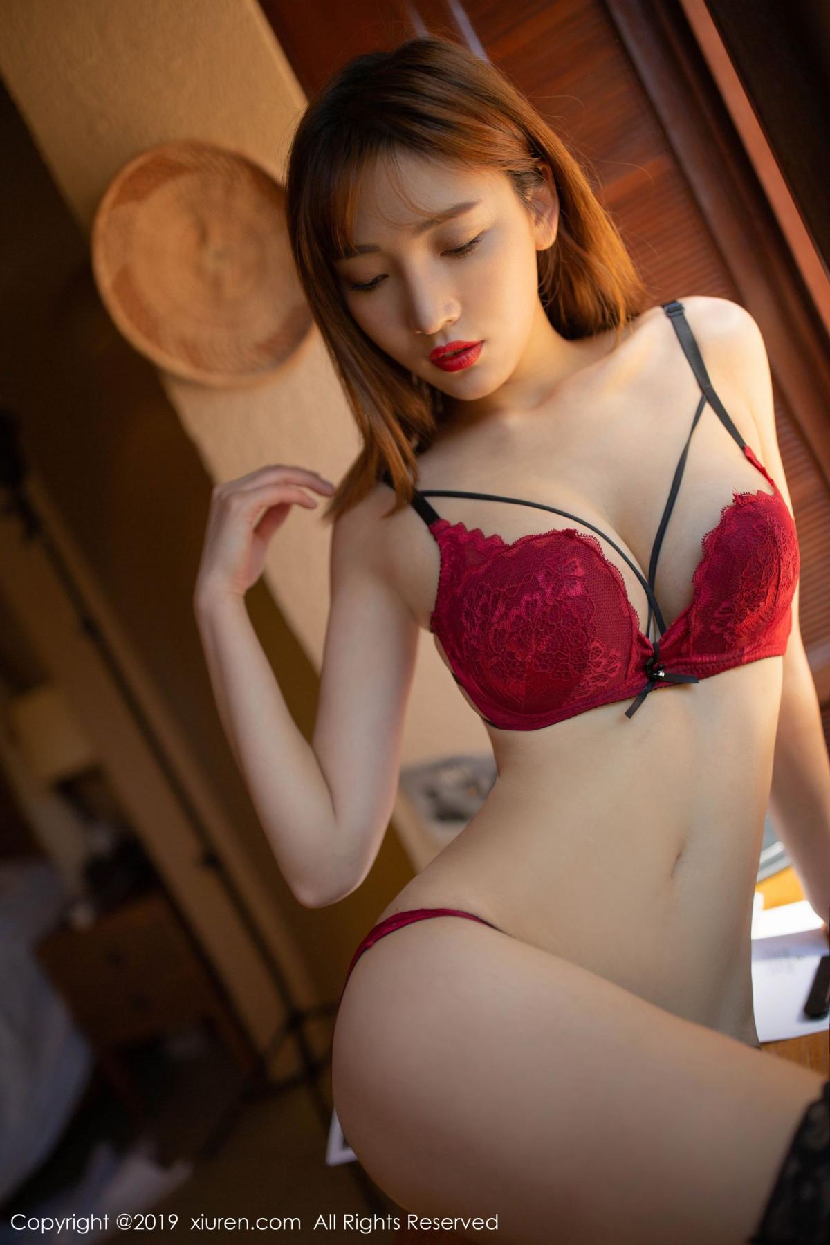 [XiuRen] Vol.1826 Lu Xuan Xuan 43P, Black Silk, Lu Xuan Xuan, Tall, Underwear, Xiuren