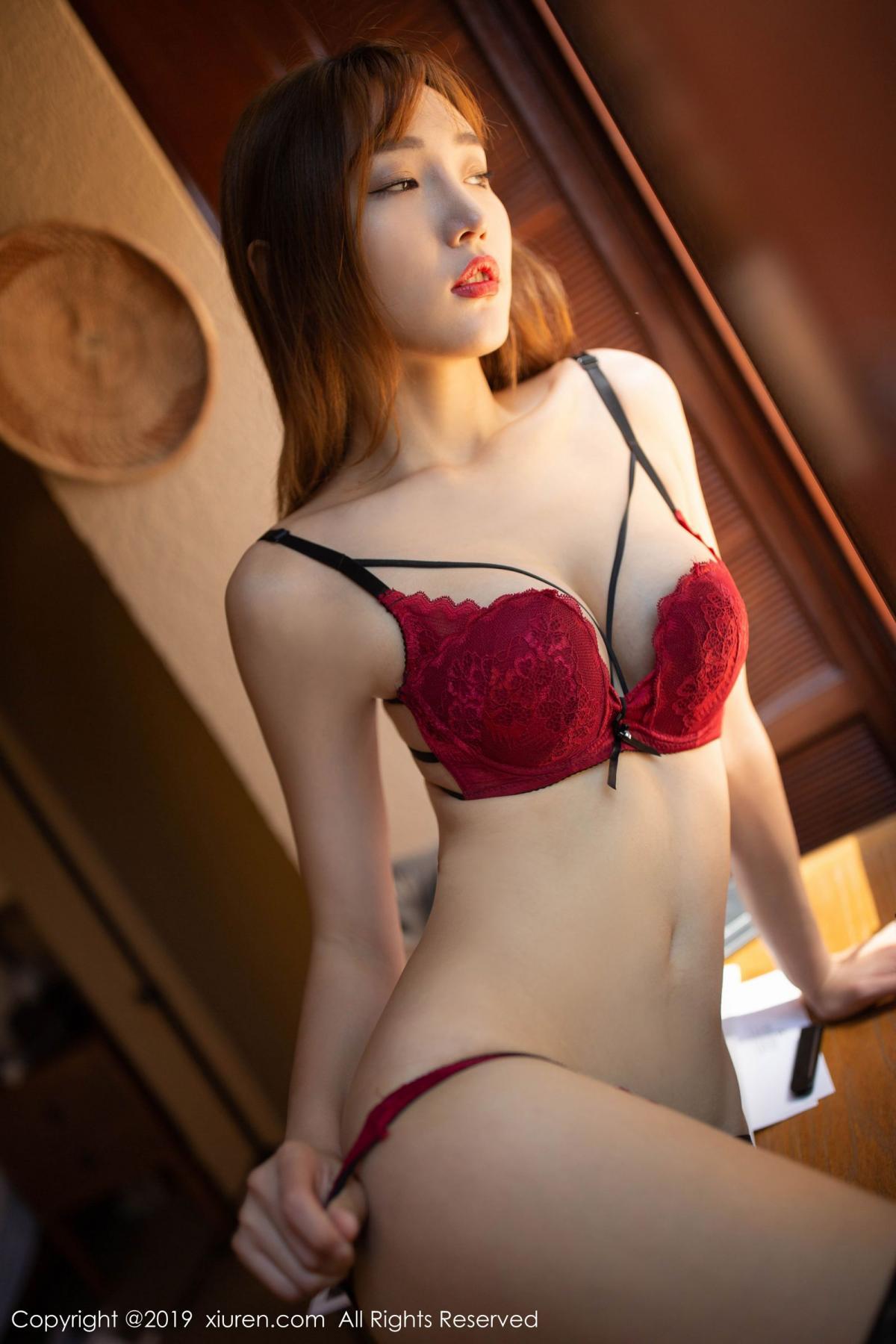 [XiuRen] Vol.1826 Lu Xuan Xuan 44P, Black Silk, Lu Xuan Xuan, Tall, Underwear, Xiuren