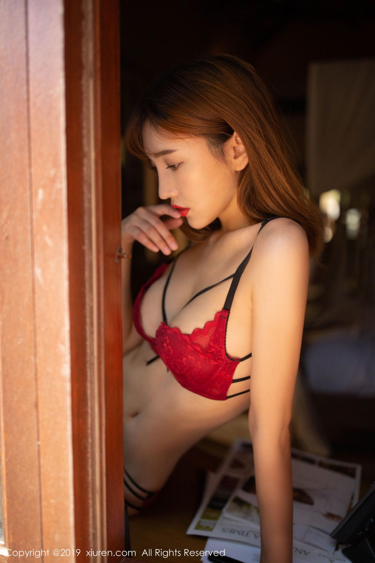 [XiuRen] Vol.1826 Lu Xuan Xuan 51P, Black Silk, Lu Xuan Xuan, Tall, Underwear, Xiuren