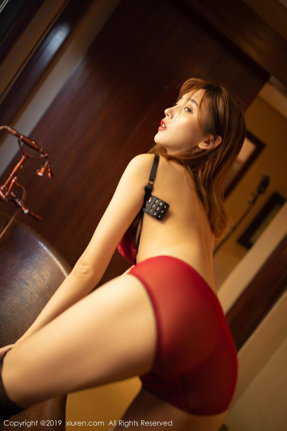 [XiuRen] Vol.1826 Lu Xuan Xuan 69P, Black Silk, Lu Xuan Xuan, Tall, Underwear, Xiuren