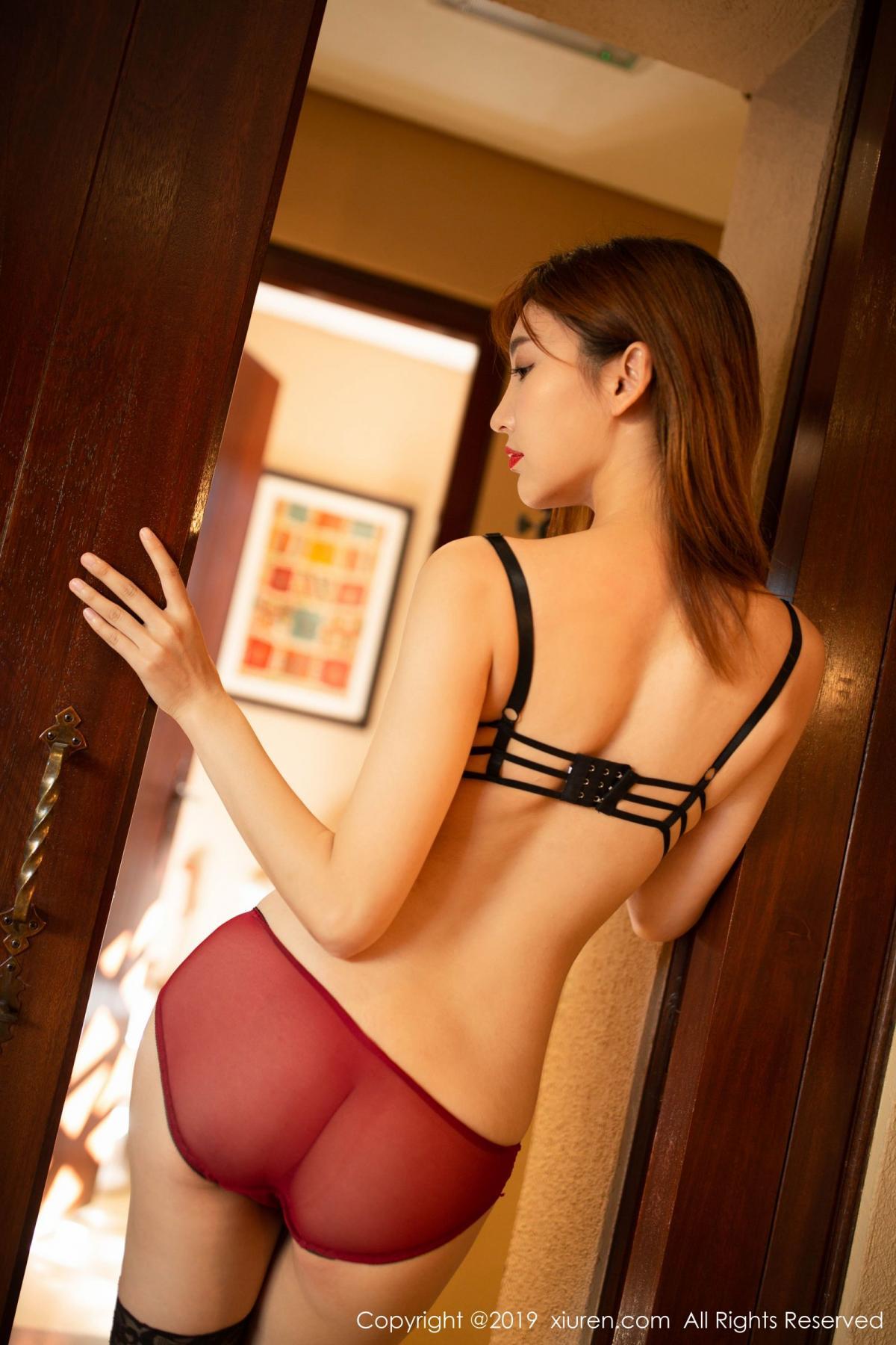 [XiuRen] Vol.1826 Lu Xuan Xuan 82P, Black Silk, Lu Xuan Xuan, Tall, Underwear, Xiuren