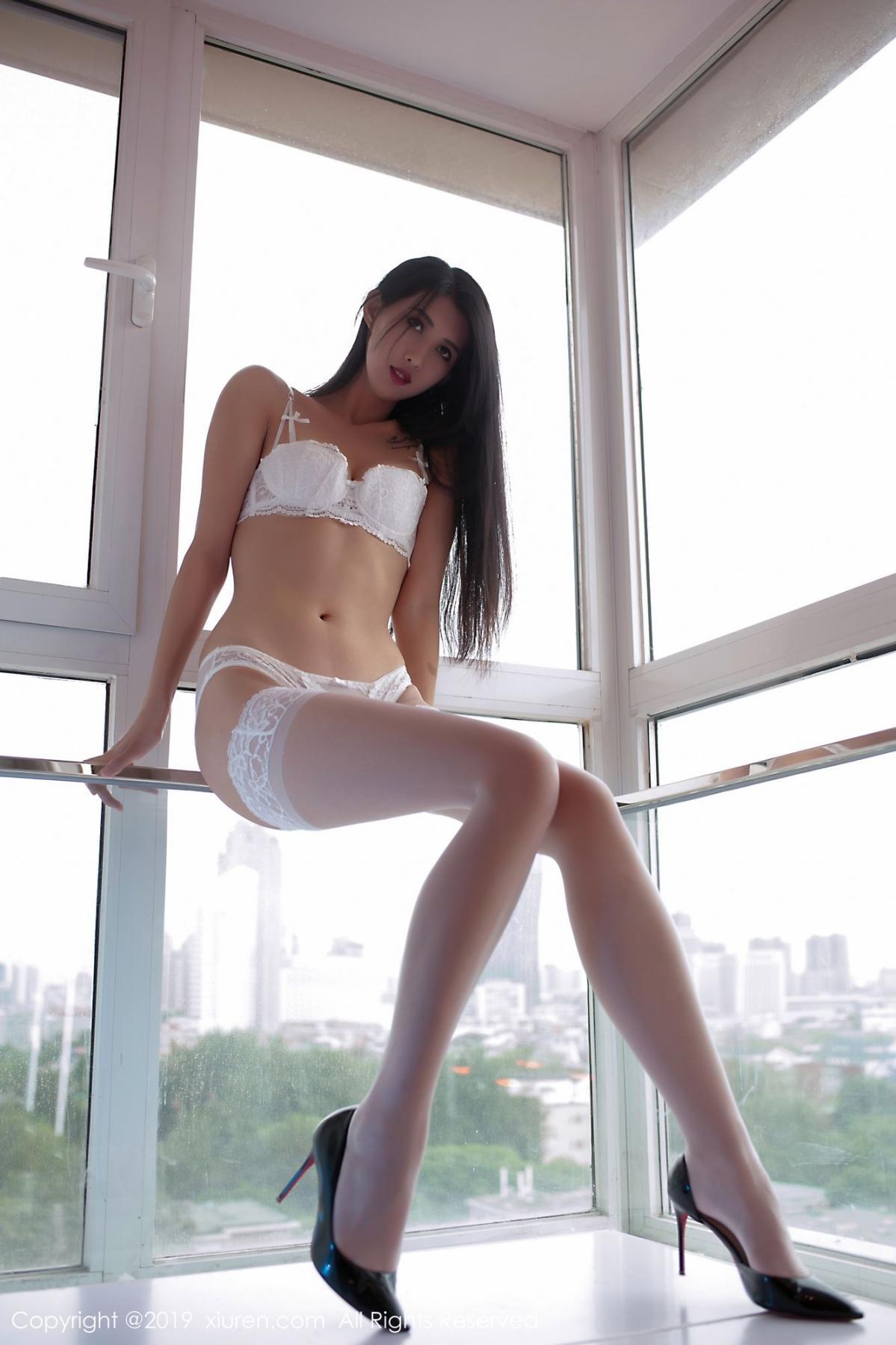[XiuRen] Vol.1836 Ha Ni Bao Bao 27P, Ha Ni Bao Bao, Tall, Underwear, Xiuren