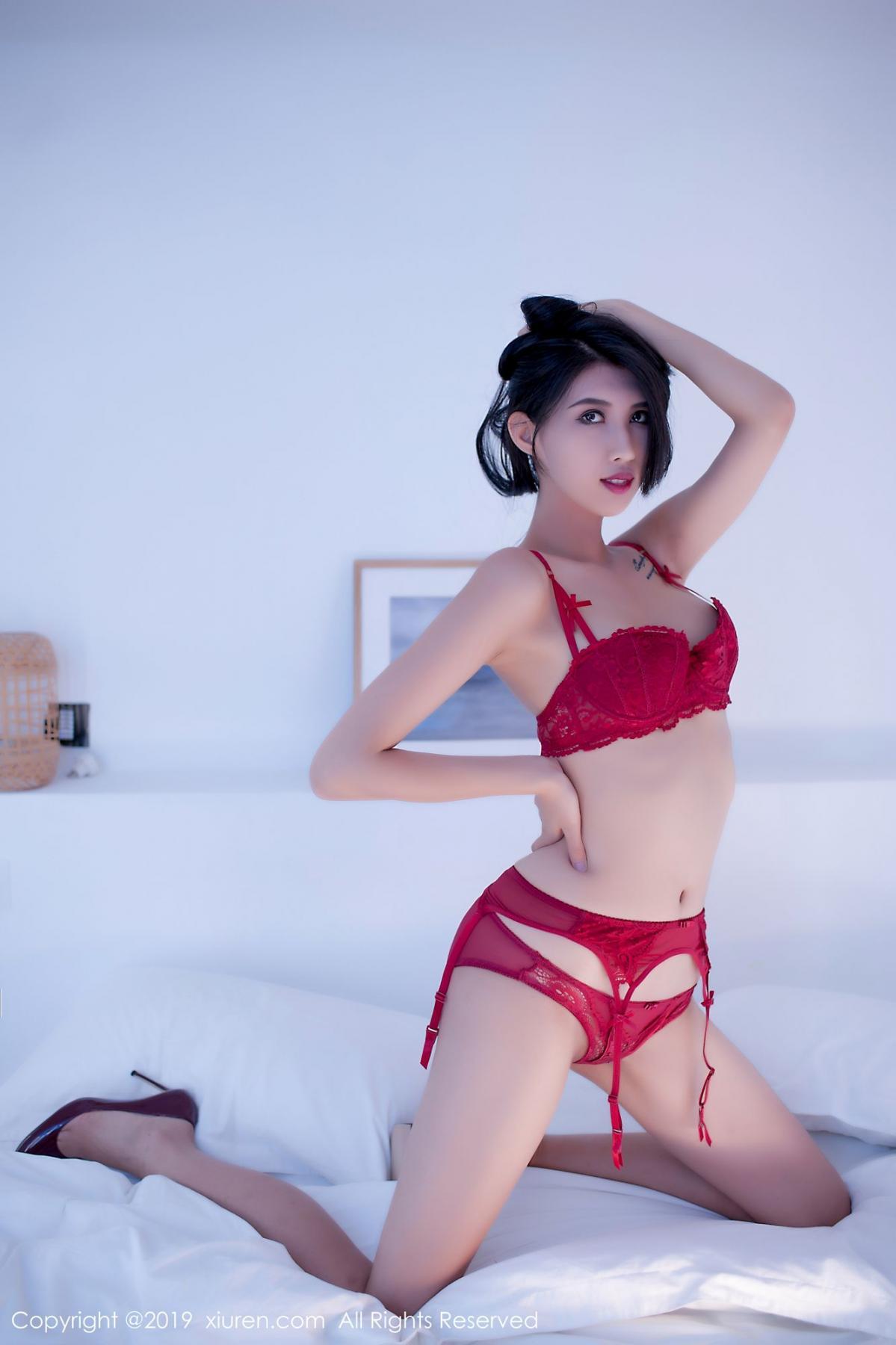 [XiuRen] Vol.1836 Ha Ni Bao Bao 50P, Ha Ni Bao Bao, Tall, Underwear, Xiuren