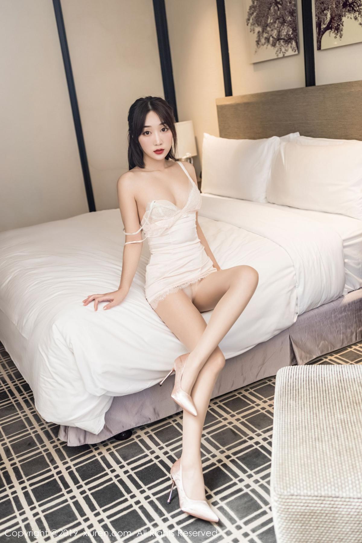 [XiuRen] Vol.1837 Xiao Jiu Yue 3P, Underwear, Xiao Jiu Yue, Xiuren