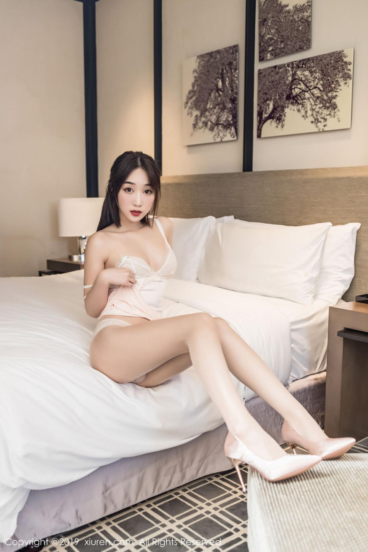 [XiuRen] Vol.1837 Xiao Jiu Yue 4P, Underwear, Xiao Jiu Yue, Xiuren