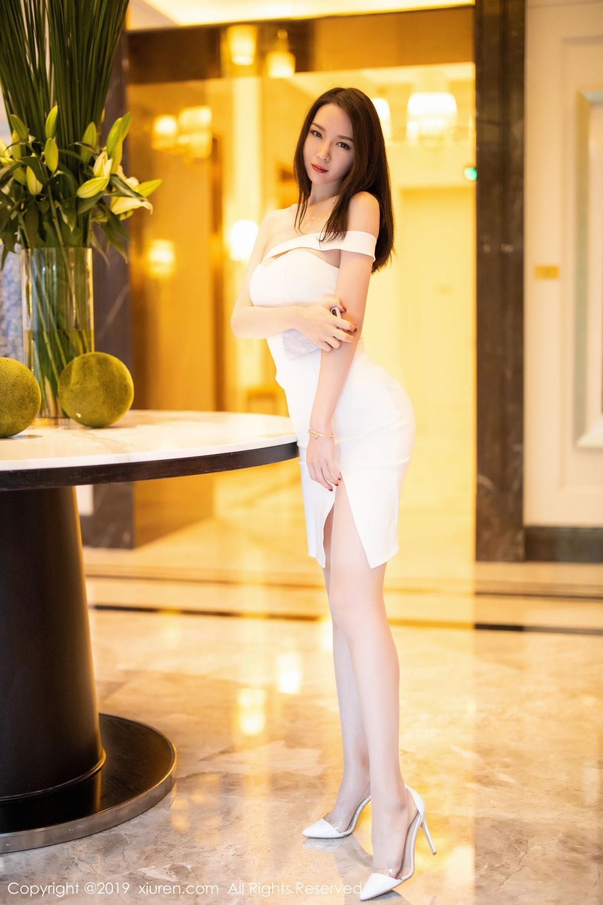 [XiuRen] Vol.1861 Meng Xin Yue 14P, Meng Xin Yue, Tall, Temperament, Uniform, Xiuren