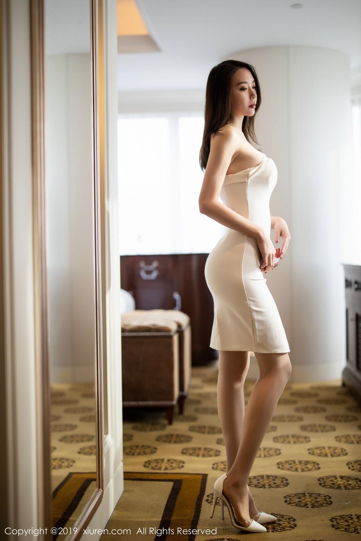 [XiuRen] Vol.1861 Meng Xin Yue 2P, Meng Xin Yue, Tall, Temperament, Uniform, Xiuren