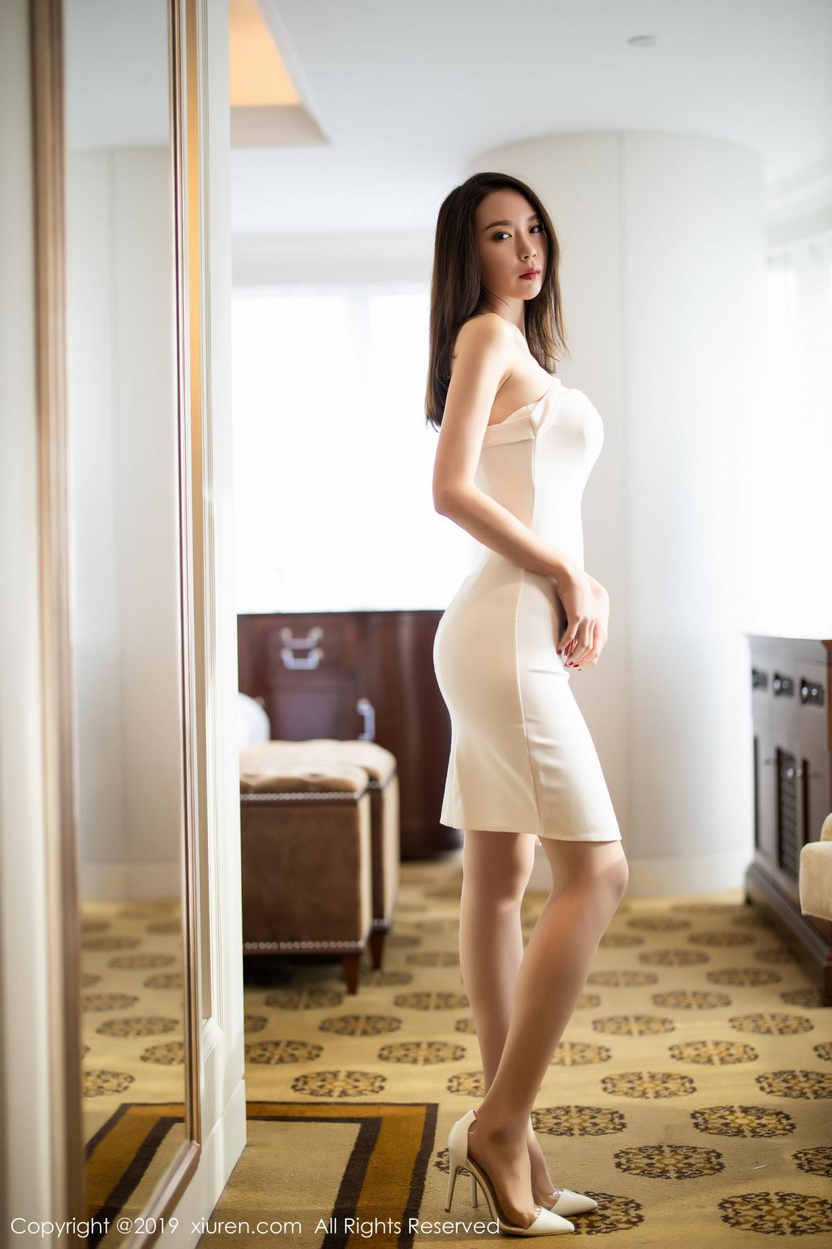 [XiuRen] Vol.1861 Meng Xin Yue 3P, Meng Xin Yue, Tall, Temperament, Uniform, Xiuren