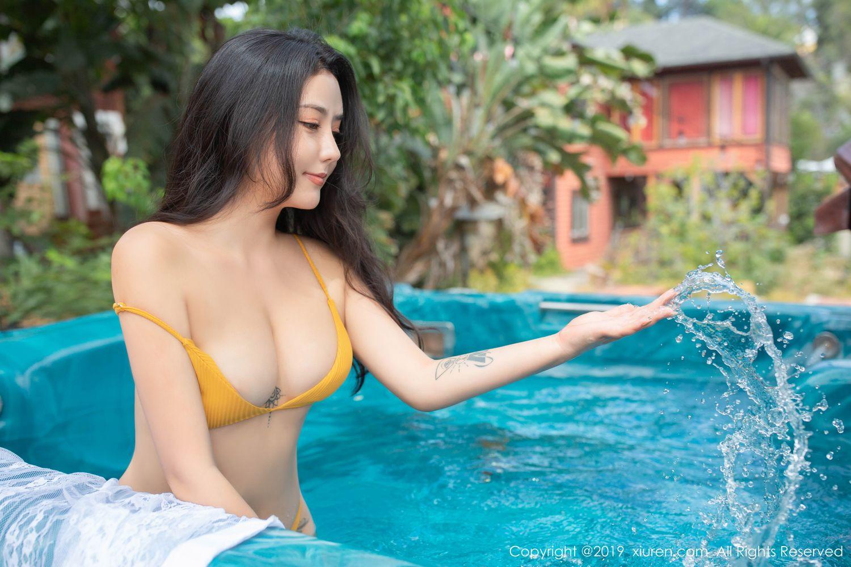 [XiuRen] Vol.1885 Ma Lu Na 13P, Adult, Bikini, Ma Lu Na, Swim Pool, Xiuren