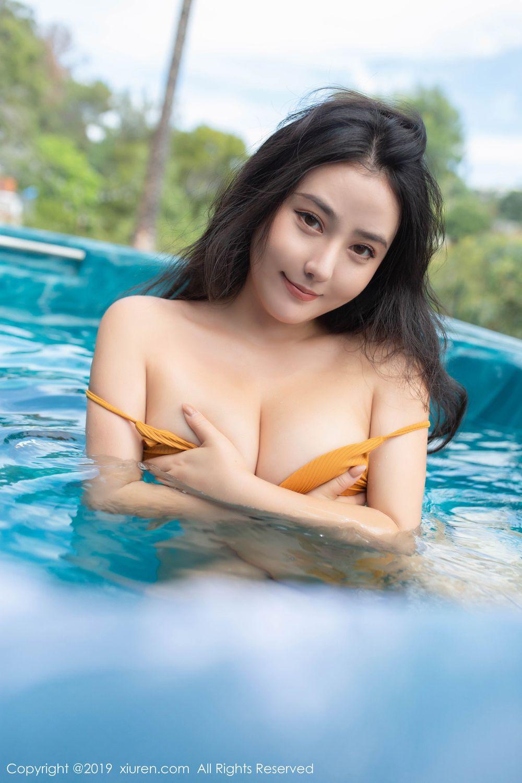 [XiuRen] Vol.1885 Ma Lu Na 16P, Adult, Bikini, Ma Lu Na, Swim Pool, Xiuren