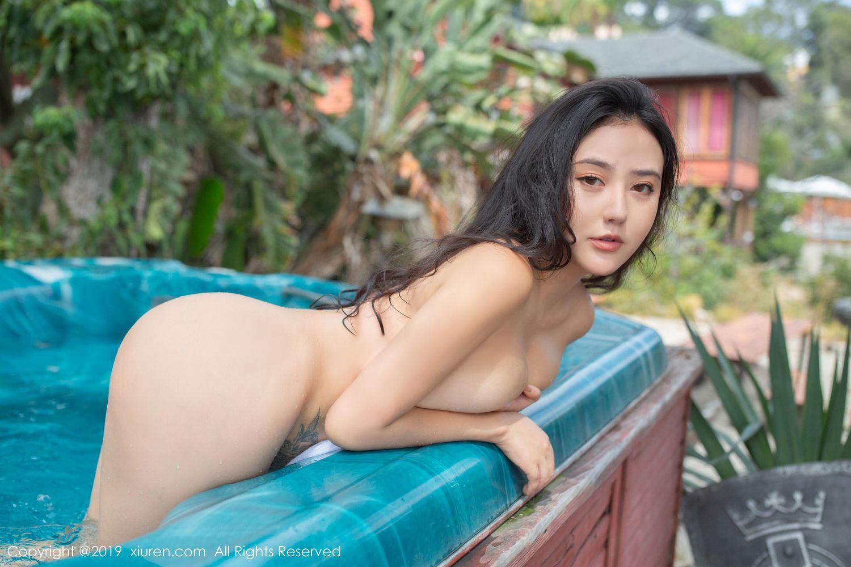 [XiuRen] Vol.1885 Ma Lu Na 24P, Adult, Bikini, Ma Lu Na, Swim Pool, Xiuren