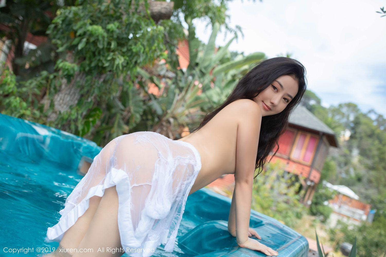 [XiuRen] Vol.1885 Ma Lu Na 25P, Adult, Bikini, Ma Lu Na, Swim Pool, Xiuren