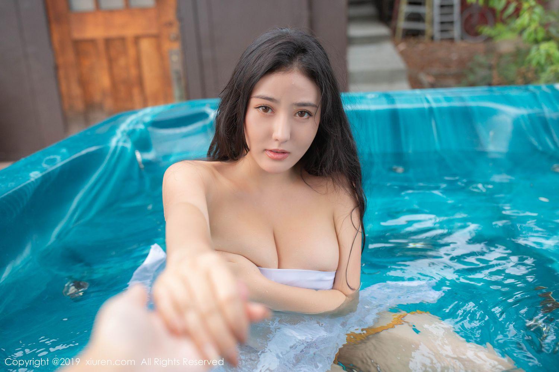 [XiuRen] Vol.1885 Ma Lu Na 32P, Adult, Bikini, Ma Lu Na, Swim Pool, Xiuren