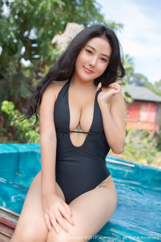 [XiuRen] Vol.1885 Ma Lu Na 52P, Adult, Bikini, Ma Lu Na, Swim Pool, Xiuren