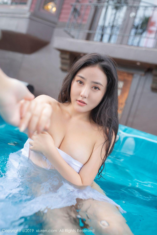 [XiuRen] Vol.1885 Ma Lu Na 5P, Adult, Bikini, Ma Lu Na, Swim Pool, Xiuren