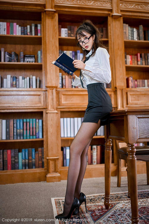 [XiuRen] Vol.1887 Lin Zi Xin 6P, Black Silk, Lin Zi Xin, Xiuren