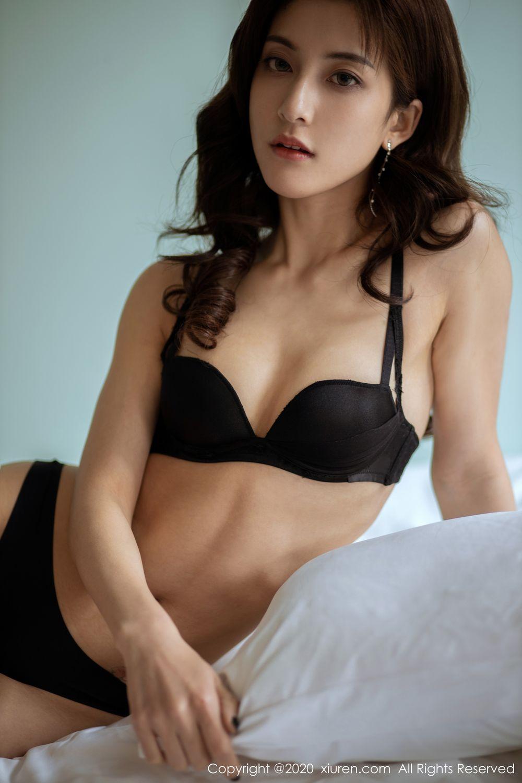 [XiuRen] Vol.1901 Lin Wen Wen 39P, Black Silk, Lin Wen Wen, Tall, Underwear, Xiuren