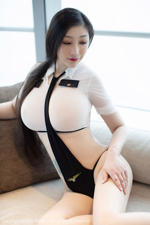 [XiuRen] Vol.1908 Da Ji Toxic 10P, Big Booty, Da Ji Toxic, Plump, Stewardess, Xiuren
