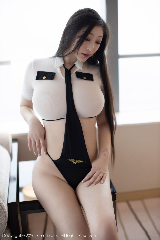 [XiuRen] Vol.1908 Da Ji Toxic 3P, Big Booty, Da Ji Toxic, Plump, Stewardess, Xiuren