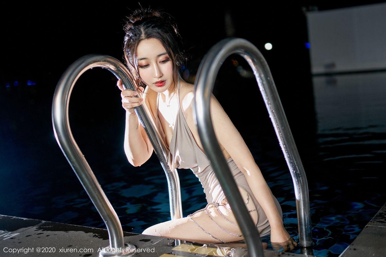 [XiuRen] Vol.1916 Lin Zi Xin 34P, Lin Zi Xin, Tall, Wet, Xiuren
