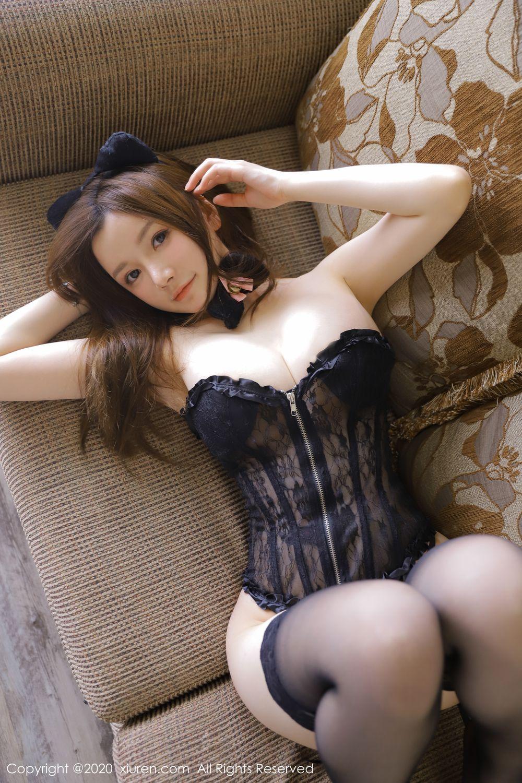 [XiuRen] Vol.1918 Mi Ni Da Meng Meng 33P, Black Silk, Mini Da Meng Meng, Underwear, Xiuren