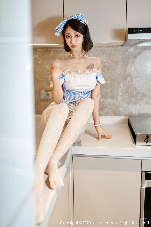 [XiuRen] Vol.1936 Lin Zi Xin 8P, Lin Zi Xin, Maid, Tall, Xiuren