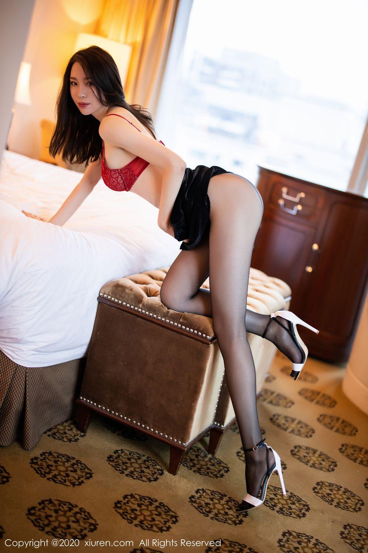[XiuRen] Vol.1940 Meng Xin Yue 19P, Black Silk, Meng Xin Yue, Tall, Underwear, Xiuren
