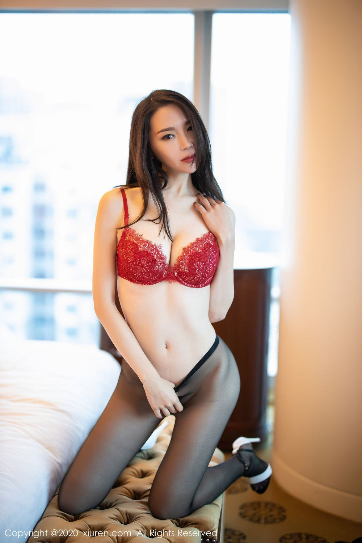 [XiuRen] Vol.1940 Meng Xin Yue 21P, Black Silk, Meng Xin Yue, Tall, Underwear, Xiuren