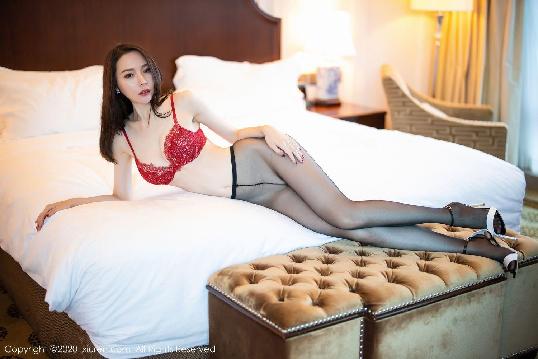 [XiuRen] Vol.1940 Meng Xin Yue 23P, Black Silk, Meng Xin Yue, Tall, Underwear, Xiuren