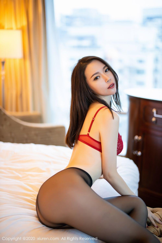 [XiuRen] Vol.1940 Meng Xin Yue 24P, Black Silk, Meng Xin Yue, Tall, Underwear, Xiuren