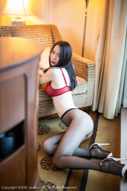 [XiuRen] Vol.1940 Meng Xin Yue 26P, Black Silk, Meng Xin Yue, Tall, Underwear, Xiuren