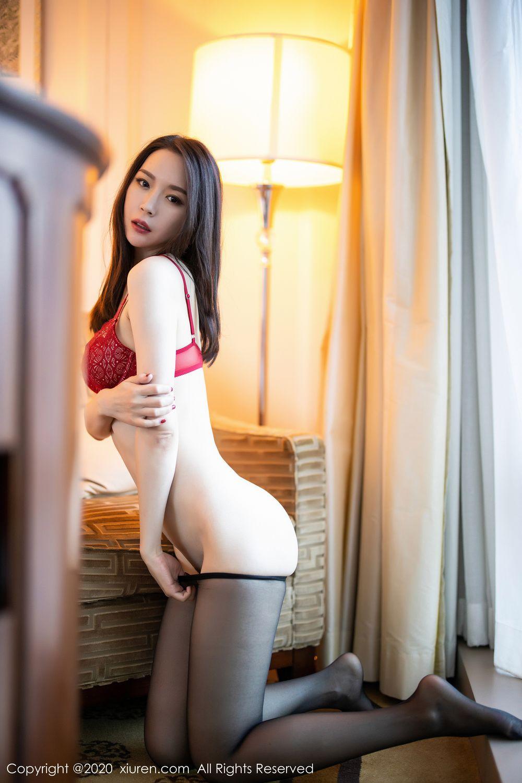 [XiuRen] Vol.1940 Meng Xin Yue 32P, Black Silk, Meng Xin Yue, Tall, Underwear, Xiuren