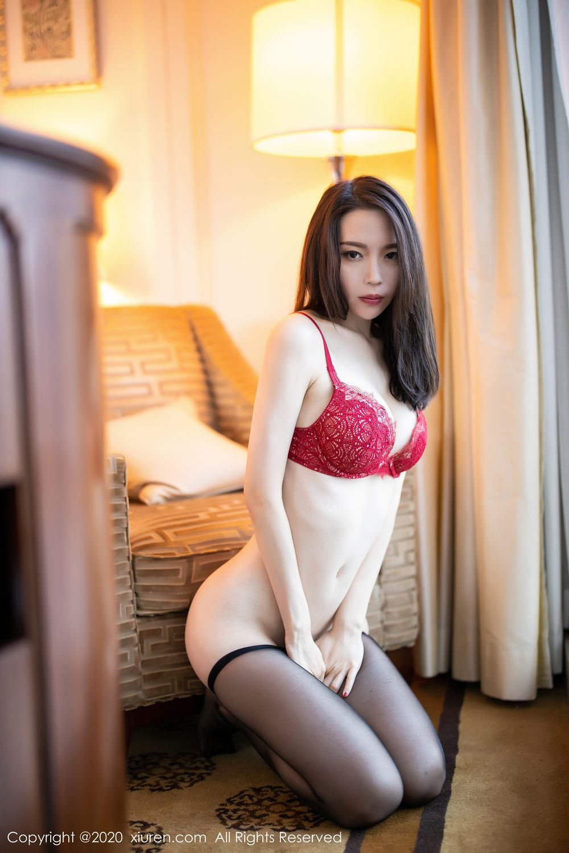 [XiuRen] Vol.1940 Meng Xin Yue 34P, Black Silk, Meng Xin Yue, Tall, Underwear, Xiuren