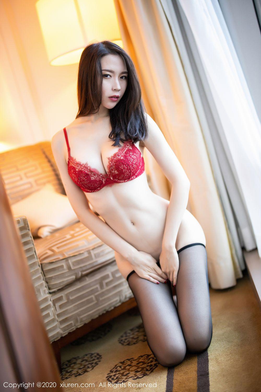 [XiuRen] Vol.1940 Meng Xin Yue 35P, Black Silk, Meng Xin Yue, Tall, Underwear, Xiuren