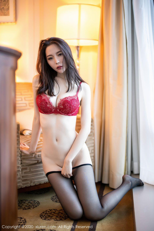 [XiuRen] Vol.1940 Meng Xin Yue 36P, Black Silk, Meng Xin Yue, Tall, Underwear, Xiuren