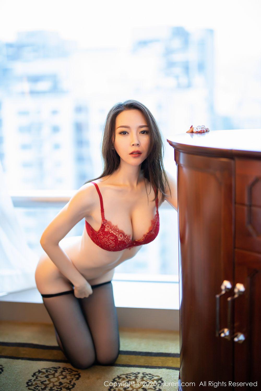 [XiuRen] Vol.1940 Meng Xin Yue 37P, Black Silk, Meng Xin Yue, Tall, Underwear, Xiuren