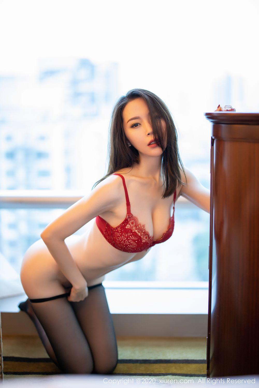 [XiuRen] Vol.1940 Meng Xin Yue 38P, Black Silk, Meng Xin Yue, Tall, Underwear, Xiuren
