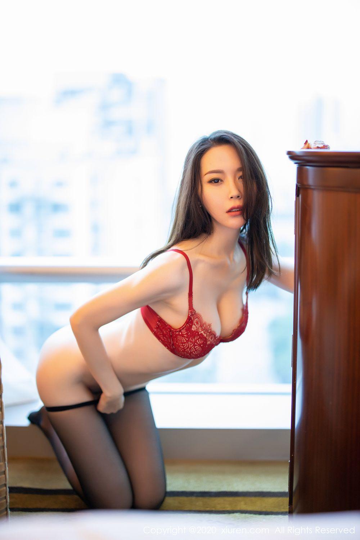 [XiuRen] Vol.1940 Meng Xin Yue 39P, Black Silk, Meng Xin Yue, Tall, Underwear, Xiuren